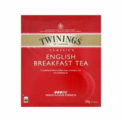 6177 - Twinings english break fast 100 TB