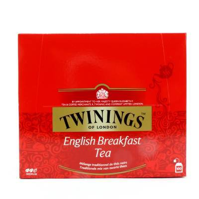 6179 - Twinings english breakfast tag 100 TB