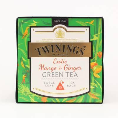6190 - Twinings platinum green mango & ginger 15 TB
