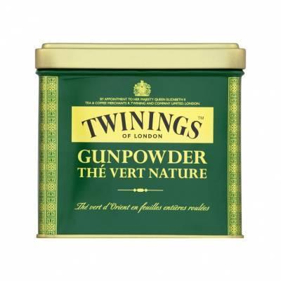 6193 - Twinings gunpowder pure green tea 200 gram
