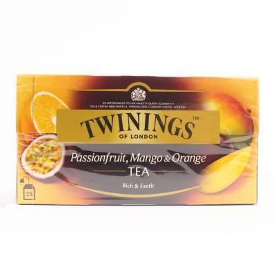 6196 - Twinings passion fruit, mango & orange 25 TB