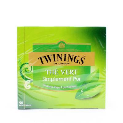 6216 - Twinings simply pure green 50 TB