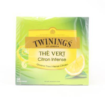 6218 - Twinings green lemon 50tb 50 TB