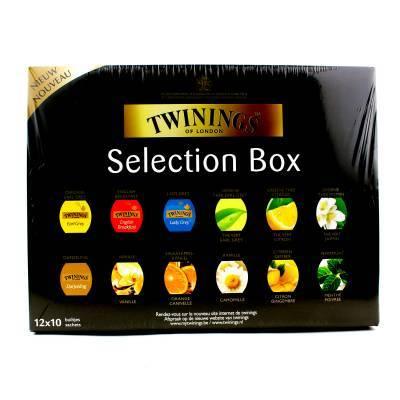 6225 - Twinings full box - tea & infusions TB