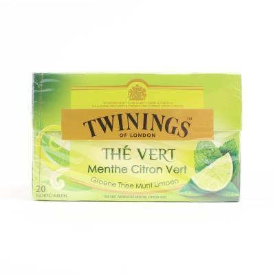 6232 - Twinings green mint lemon 20 TB
