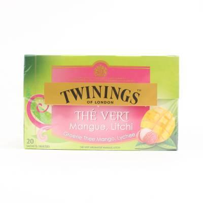 6233 - Twinings green mango-litchi 20 TB