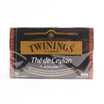 6246 - Twinings ceylon scotland 20 TB