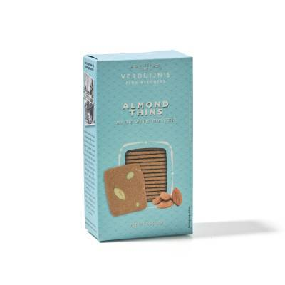 6751 - Verduijn's Fine Biscuits almond thins made with butter 75 gram