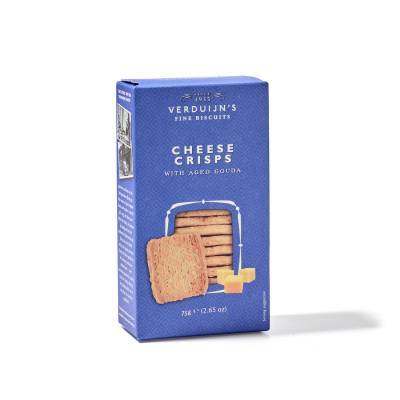 6755 - Verduijn's Fine Biscuits cheese crisps with aged gouda 75 gram