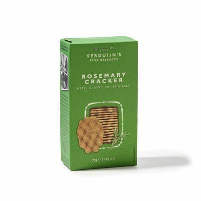 6758 - Verduijn's Fine Biscuits rosemary cracker with seasalt 75 gram