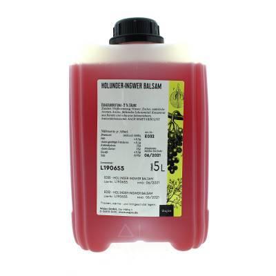 5307 - Wajos vlierbes gember balsamico azijn 5000 ml