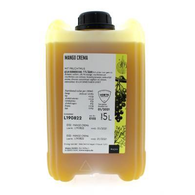 5326 - Wajos crema di frutta mango 5000 ml