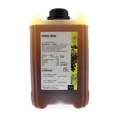 5327 - Wajos crema di frutta paprika 5000 ml