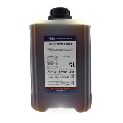 5340 - Wajos sherry balsamico azijn 5000 ml
