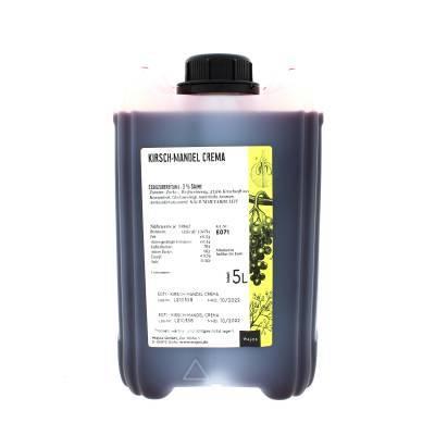 5343 - Wajos kersen amandel crema azijn 5000 ml