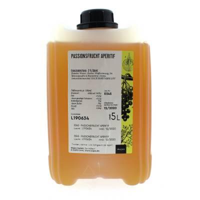 5352 - Wajos witte wijnazijn met passievrucht 5000 ml