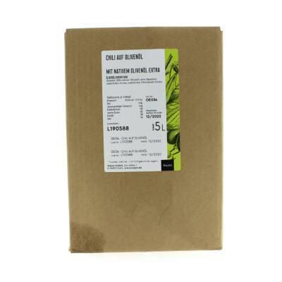 5383 - Wajos olijfolie met peperoni 5000 ml