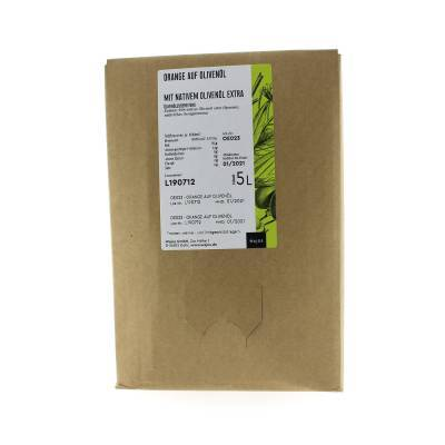 5392 - Wajos olijfolie met sinaasappel 5000 ml