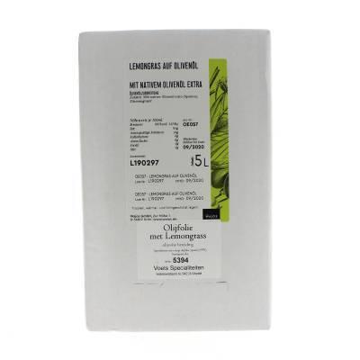 5394 - Wajos olijfolie met citroengras 5000 ml