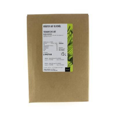 5395 - Wajos olijfolie met toscaanse kruiden 5000 ml