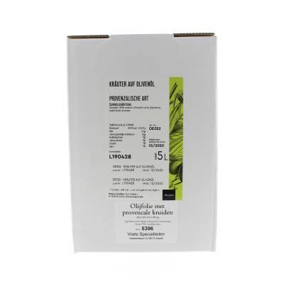 5396 - Wajos olijfolie met provencs kruiden 5000 ml