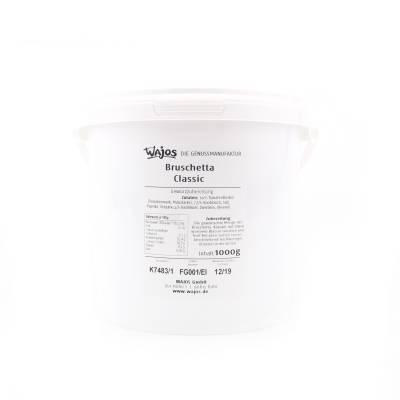 5660 - Wajos bruschetta classic grootverpakking 1000 gram
