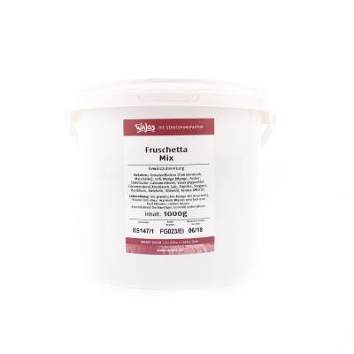 5664 - Wajos fruschetta mix grootverpakking 1000 gram