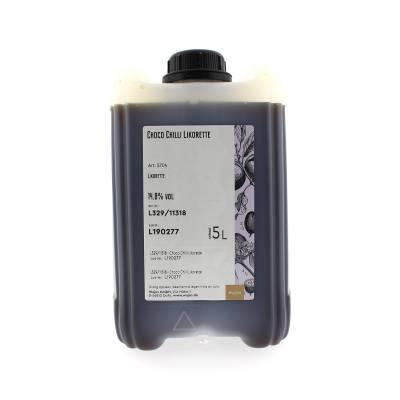 5763 - Wajos chocolade chili likeur 5000 ml