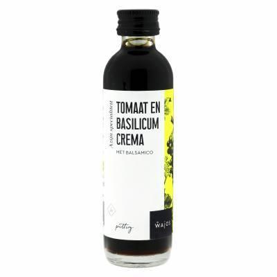 5824 - Wajos crema balsamico tomaat en basilicum 40 ml