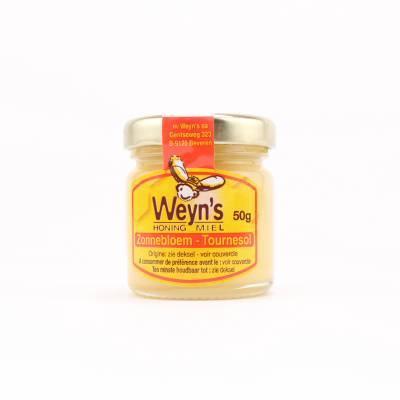 4514 - Weyn's zonnebloem honing ontbijt 50 gram