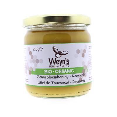 4573 - Weyn's zonnebloemhoning 450 gram