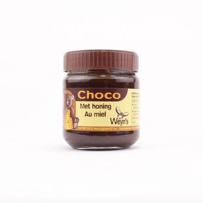 4540 - Weyn's chocolade pasta met honing 200 gram