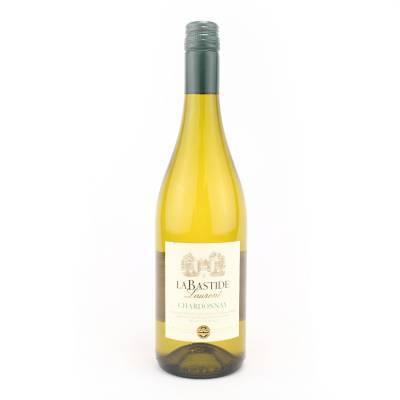 1595 - La Bastide vin de pays chardonnay 750 ml