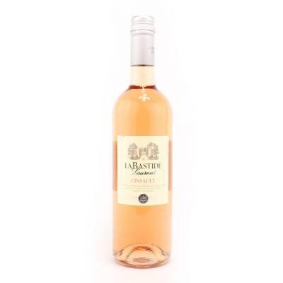 1596 - La Bastide vin de pays cincault rosé 750 ml