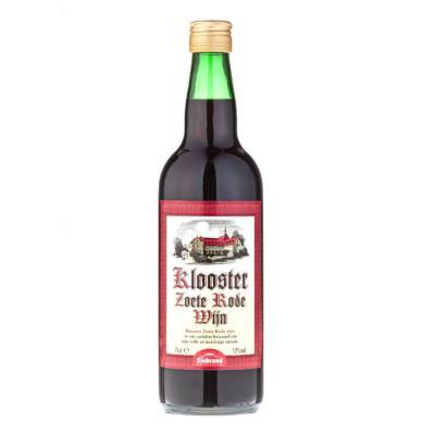 1650 - Siebrand klooster zoete rode wijn 750 ml