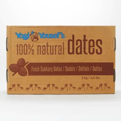 9713 - Yogi & Yousef Extra Soft Dadels 3000 gram