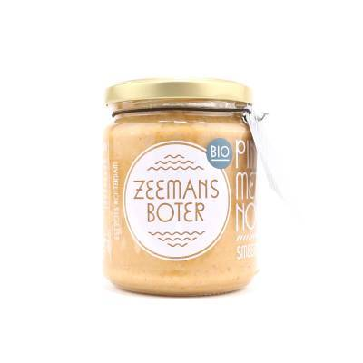 20000 - Zeemansboter pindakaas naturel 250 gram