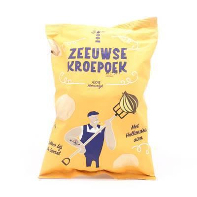 6271 - Zeeuwse Kroepoek kroepoek uien 80 gram