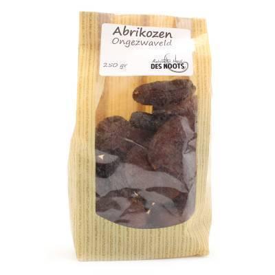 3086 - Des Noots ongezwavelde abrikozen 250 gram