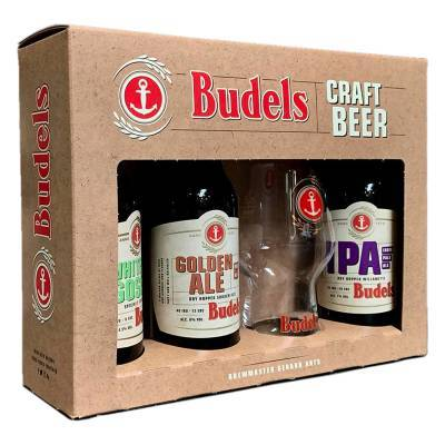 1140 - Budels Geschenkdoos Budels Craft 3x30 cl