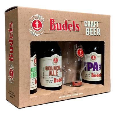 1140 - Budels Geschenkdoos Budels Craft 3x30 cl