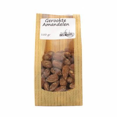 11601 - Des Noots Amandelen gerookt 150 gram