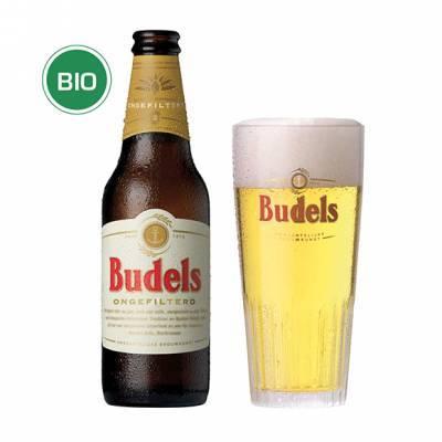 1162 - Budels budels ongefilterd bio 6x30 cl