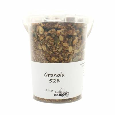 11651 - Des Noots granola 52%(premium) beker 250 gram
