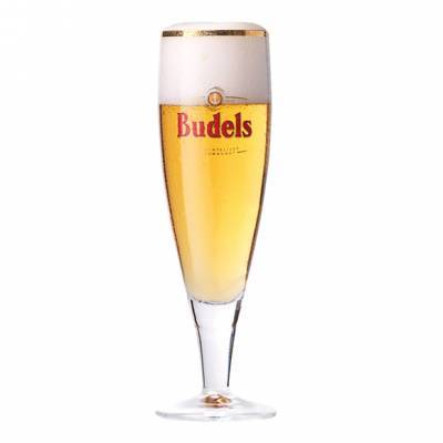 1173 - Budels Glas Goud Rand 25 cl