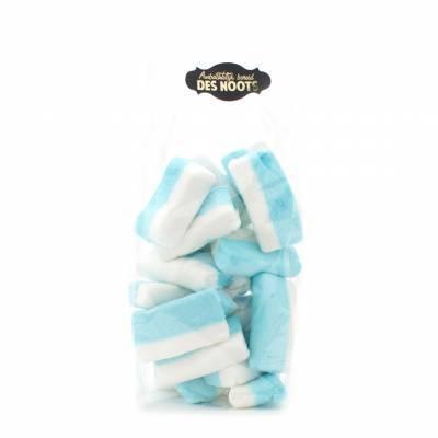 11743 - Des Noots Spek blauw wit 220 gram