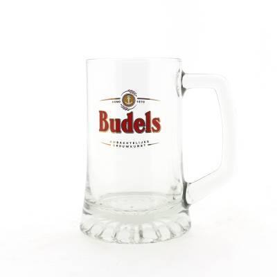 1178 - Budels Glas Bierpul 25 cl