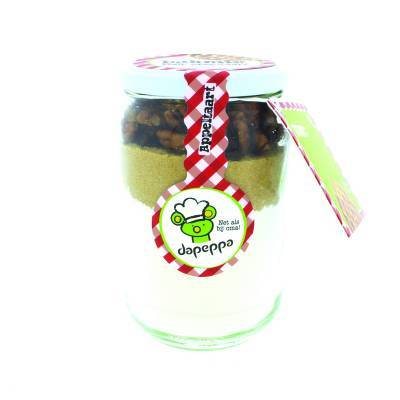 12360 - Dapeppa koekjespot appeltaartmix 535 gram