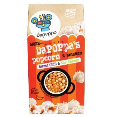 12390 - Dapeppa dapoppa's popcorn sweet chili & say chee 420 gram