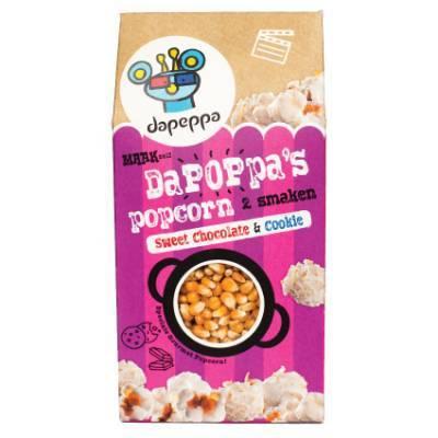 12391 - Dapeppa dapoppa's popcorn sweet chocolate & cook 420 gram